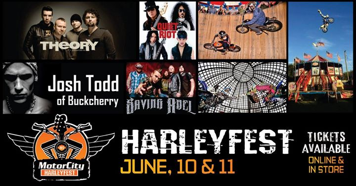 More Information. Join us for Harleyfest 2017 at the all new Motor City Harley-Davidson ...