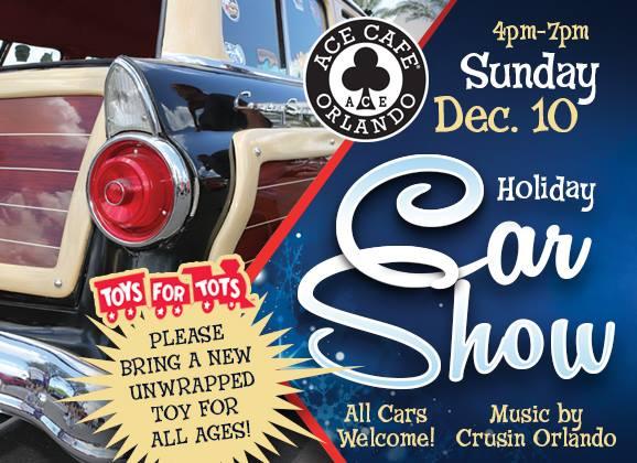 Holiday Car Show Toy Drive Asphalt Iron - Car show orlando fl